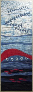 Terry Aske-Indigo quilt - finished
