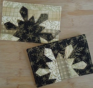 Terry Aske Snowflake Postcards