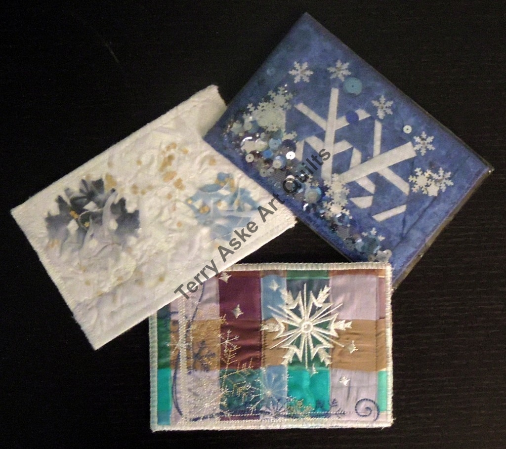 Snowflake postcards received
