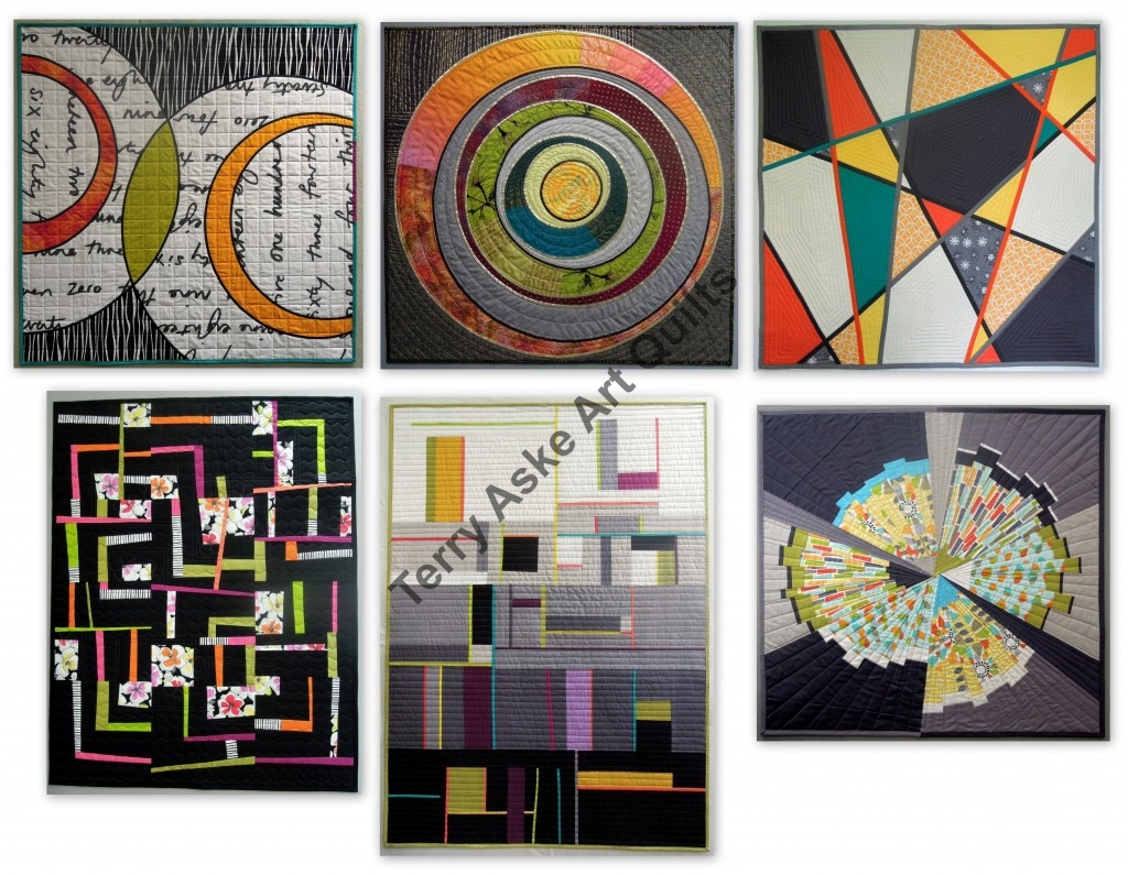 Terry Aske QuiltCon entries
